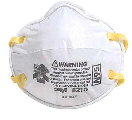 3m particulate respirator, n95, 8233, 8511, 8670f, 8210v, n95 8210, 8293 p100, 9210, n95 9211, n95 8511, 8612f, 8271 p95, 8822, 8577, 8200, 8210, 8247,3m vapour and particulate respirator (4277)