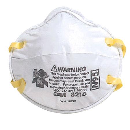 3m particulate respirator n95 8210v