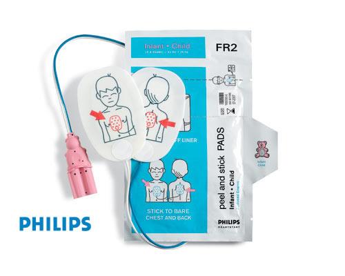 Philips Heartstart PediatricPadsFR2-dubai abudhabi UAE Caspian Russia Africa