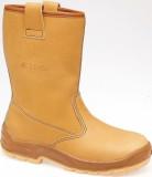 Jallatte Safety Shoes Jalaska J0266 Tan Rigger Safety Work Boot