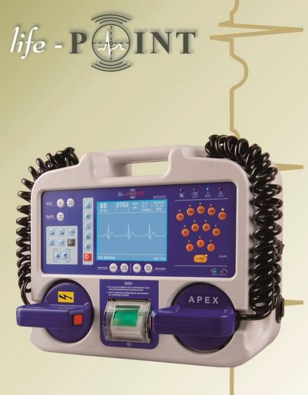 LifePoint LifePoint PLUS Biphasic Defibrillator Supplier Dubai Iraq Saudi Qatar UAE Middle East CIS Russia & Africa
