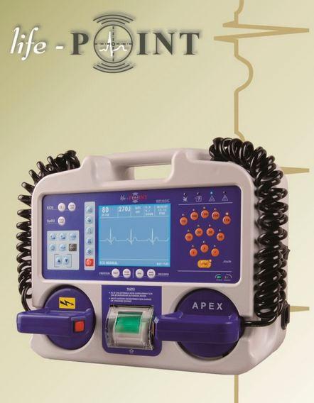 LifePoint LifePoint PLUS Biphasic Defibrillator Supplier Dubai Iraq Saudi Qatar UAE Middle East CIS Russia & Africa